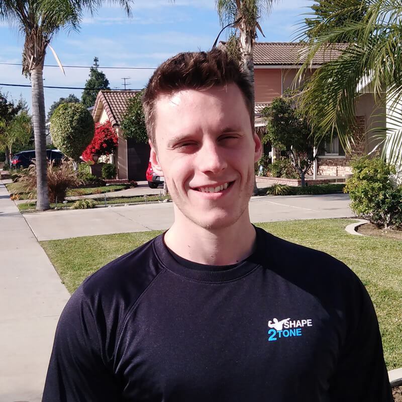 Taylor Roark - Shape2Tone Orange CA Personal Trainer
